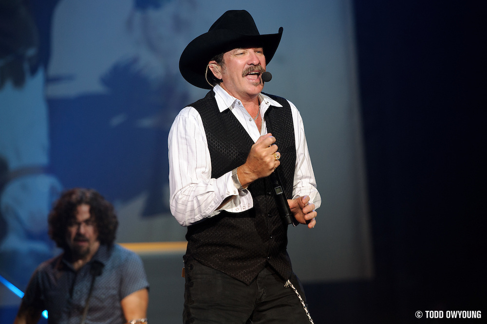 """Photos of Brooks and Dunn on their farewell tour, """"The Last Rodeo,"""" photographed in St. Louis on August 7, 2010."""