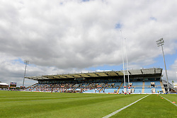 A general view of Sandy Park during the European 7s Grand Prix - Photo mandatory by-line: Dougie Allward/JMP - Mobile: 07966 386802 - 11/07/2015 - SPORT - Rugby - Exeter - Sandy Park - European Grand Prix 7s