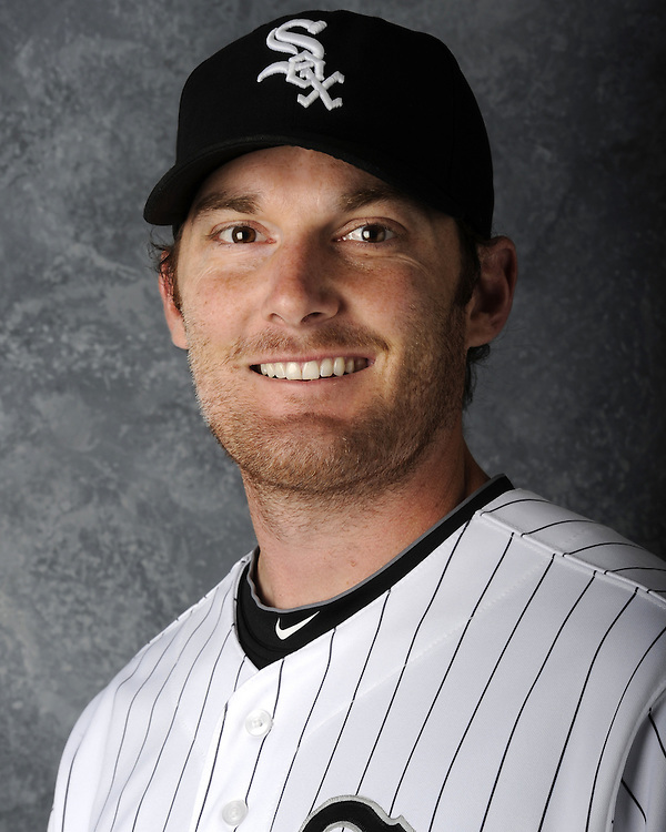GLENDALE, AZ - MARCH 03:  Philip Humber of the Chicago White Sox poses for his official team headshot during photo day on March 3, 2012 at The Ballpark at Camelback Ranch in Glendale, Arizona. (Photo by Ron Vesely)   Subject:   Philip Humber