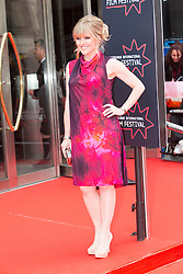 "Ashley Jensen. Opening Night Gala and World Premiere of ""The Legend of Barney Thompson"", Edinburgh International Film Festival 17 - 28 June 2015."