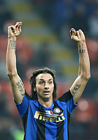 Fotball<br /> Italia<br /> Foto: Inside/Digitalsport<br /> NORWAY ONLY<br /> <br /> Zlatan Ibrahimovic (Inter)<br /> <br /> 22.10.2008<br /> Champions League 2008/2009<br /> Inter v Anorthosis Famagusta (1-0)