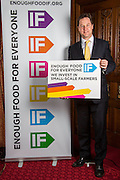 Nick Clegg MP supporting the Enough Food for Everyone?IF campaign. .MP's and Peers attended the parliamentary launch of the IF campaign in the State Rooms of Speakers House, Palace of Westminster. London, UK.