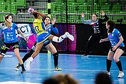 Samara da Silva Vieira of RK Krim (SLO) during handball match between RK Krim Mercator (SLO) vs Metz Handball  (FRA) in DELO EHF Women's Champions League 2020/21, on January 16, 2021 in SRC Stozice, Ljubljana, Slovenia. Photo by Grega Valancic / Sportida