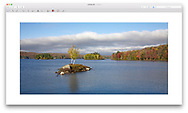 Tupper Lake, Adirondack Mountains, New York, USA