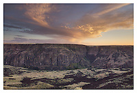 Owyhee River Canyon Sunset Oregon