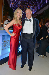 HEATHER BIRD-TCHENGUIZ and MICHAEL WHITELOCK at Steps To The Future -in aid of RAFT (Restoration of Appearance & Function Trust) and Walking With The Wounded held at The Hurlingham Club, London on 28th November 2014.