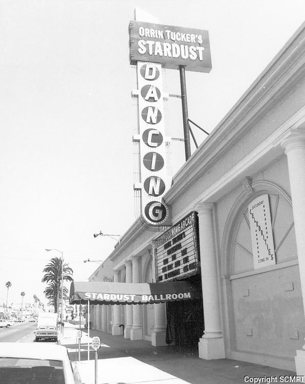 1977 Stardust Dancing Ballroom on Sunset Blvd.