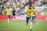 Neymar of Brazil during the 2018 FIFA World Cup Russia, round of 16 football match between Brazil and Mexico on July 2, 2018 at Samara Arena in Samara, Russia - Photo Thiago Bernardes / FramePhoto / ProSportsImages / DPPI