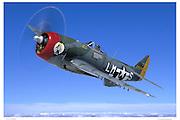 P-47, air-to-air