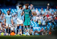 Football - 2018 / 2019 Premier League - Manchester City vs Tottenham Hotspur<br /> <br /> Kyle Walker of Manchester City and Dele Alli of Tottenham Hotspur at the Etihad<br /> <br /> COLORSPORT/LYNNE CAMERON