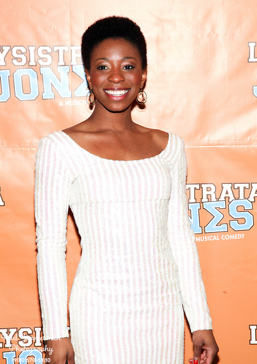 """NEW YORK, NY - DECEMBER 14:  Laquet Sharnell attends the """"Lysistrata Jones"""" Broadway opening night after party at the New Liberty Theatre on December 14, 2011 in New York City.  (Photo by Paul Zimmerman/WireImage)"""