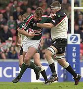 © Peter Spurrier / Sportsbeat images<br />email images@sportsbeat.co.uk - Tel +44 208 876 8611<br />Photo Peter Spurrier 02/05/2003<br />2003 - Zurich Premiership Rugby - Leicester Tigers v London Irish<br />Craig McMullen