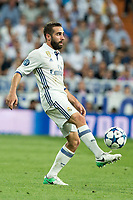Daniel Carvajal of Real Madrid during the match of Champions League between Real Madrid and FC Bayern Munchen at Santiago Bernabeu Stadium  in Madrid, Spain. April 18, 2017. (ALTERPHOTOS)