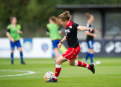 Frankie Fanton-Brown defender for Bristol City Women during warm-up - Mandatory by-line: Paul Knight/JMP - 24/09/2016 - FOOTBALL - Stoke Gifford Stadium - Bristol, England - Bristol City Women v Durham Ladies - FA Women's Super League 2
