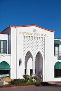 Historic City Hall Building On El Camino In San Clemente