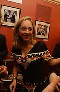 Kate Pakenham, Opening night of Embers, Duke of York's theatre. St. Martin's Lane. London. 1 March 2006. ONE TIME USE ONLY - DO NOT ARCHIVE  © Copyright Photograph by Dafydd Jones 66 Stockwell Park Rd. London SW9 0DA Tel 020 7733 0108 www.dafjones.com