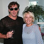 Start Radio Nationaal Hilversum, gerard Joling en Marisca Rossenberg ( partner Frans Bauer)