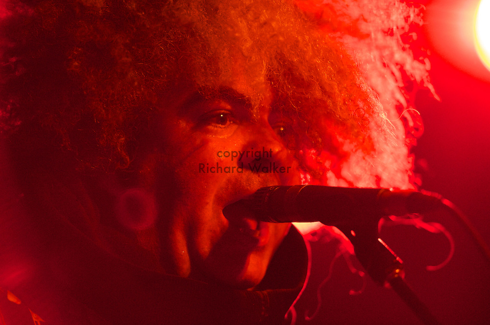 2010 July 06, Seattle, Washington, USA - Buzz Osborne, guitarist and vocalist of The Melvins performs at The Showbox at the Market in Seattle, WA. Photo by Richard Walker
