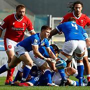 Roma 13/03/2021, Stadio Olimpico<br /> Guinness Six Nations 2021<br /> Italia vs Galles<br /> <br /> Stephen Varney