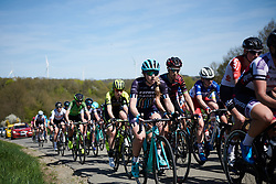 Annie Simpson (GBR) at La Flèche Wallonne Femmes 2018, a 118.5 km road race starting and finishing in Huy on April 18, 2018. Photo by Sean Robinson/Velofocus.com