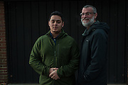 COLUMBIA, MD -- 12/20/14 -- Mark Johnson-Lewis, 48, and his son, Tyler Lewis, 22, talk about the complexity of being a biracial family..…by André Chung #_AC23113