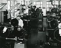 1933 Film editors at MGM Studios