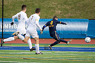 Jericho plays Greece Athena in the New York State Public High School Athletic Association Class A boys soccer championship game on Sunday, Nov. 17, 2019, at Middletown.