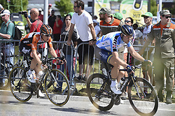 June 17, 2017 - Schaffhausen, Schweiz - Schaffhausen, 17.06.2017, Radsport - Tour de Suisse, Nick Van der Lijke und Lasse Norman Hansen an der Tour de Suisse. (Credit Image: © Melanie Duchene/EQ Images via ZUMA Press)