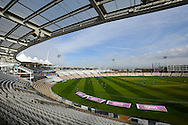 3rd Days play between Hampshire and Warwickshire in the County Championships.  Sunny skies above the Ageas Bowl on day 3 after the washout of the second day's play in the Specsavers County Champ Div 1 match between Hampshire County Cricket Club and Warwickshire County Cricket Club at the Ageas Bowl, Southampton, United Kingdom on 12 April 2016. Photo by Graham Hunt.