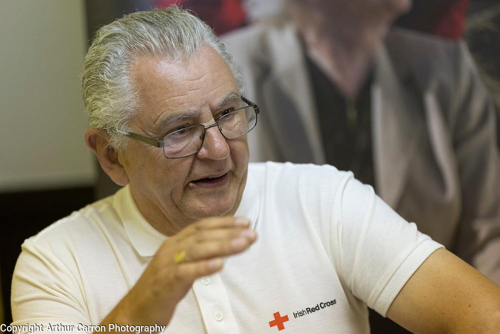 Patrick Woods, Red Cross Volunteers, Drogheda. Picture: Arthur Carron