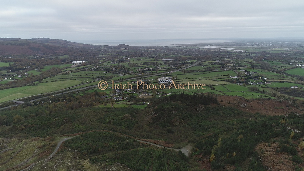 Slieve Foy County Louth Armagh north of Dundalk south of Newry County Down M1 between Cooley, Sleve Gullion County Down