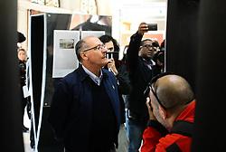 July 4, 2017 - O governador Geraldo Alckmin, visita exposição Debret em comemoração dos 25 anos da CPTM (Companhia Paulista de Trens Metropolitanos), na manhã desta terça-feira (04), na estação da Luz, região central da cidade. (Credit Image: © Aloisio Mauricio/Fotoarena via ZUMA Press)