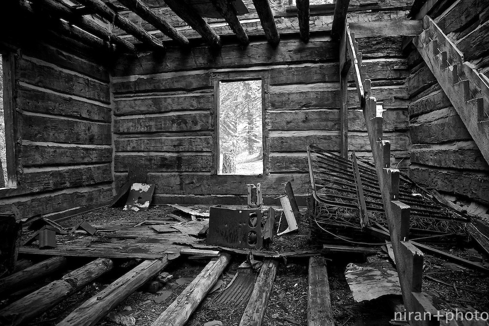 Interior Shot of the Employee Housing of the failed Lost Creek damming effort.