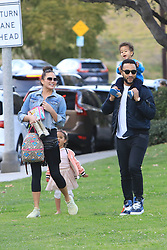 Chrissy Teigen and John Legend takes the kid to the park in Beverly Hills. 07 Mar 2020 Pictured: Chrissy Teigen and John Legend. Photo credit: MEGA TheMegaAgency.com +1 888 505 6342