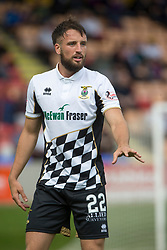 Inverness Caledonian Thistle's Brad McKay. Brechin City 0 v 4 Inverness Caledonian Thistle, Scottish Championship game played 26/8/2017 at Brechin City's home ground Glebe Park.