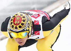18.03.2010, Triglav, Planica, SLO, FIS SKI Flying World Championships 2010, Training, im Bild KASAI Noriaki ( JPN, #54 ), EXPA Pictures © 2010, PhotoCredit: EXPA/ J. Groder / SPORTIDA PHOTO AGENCY