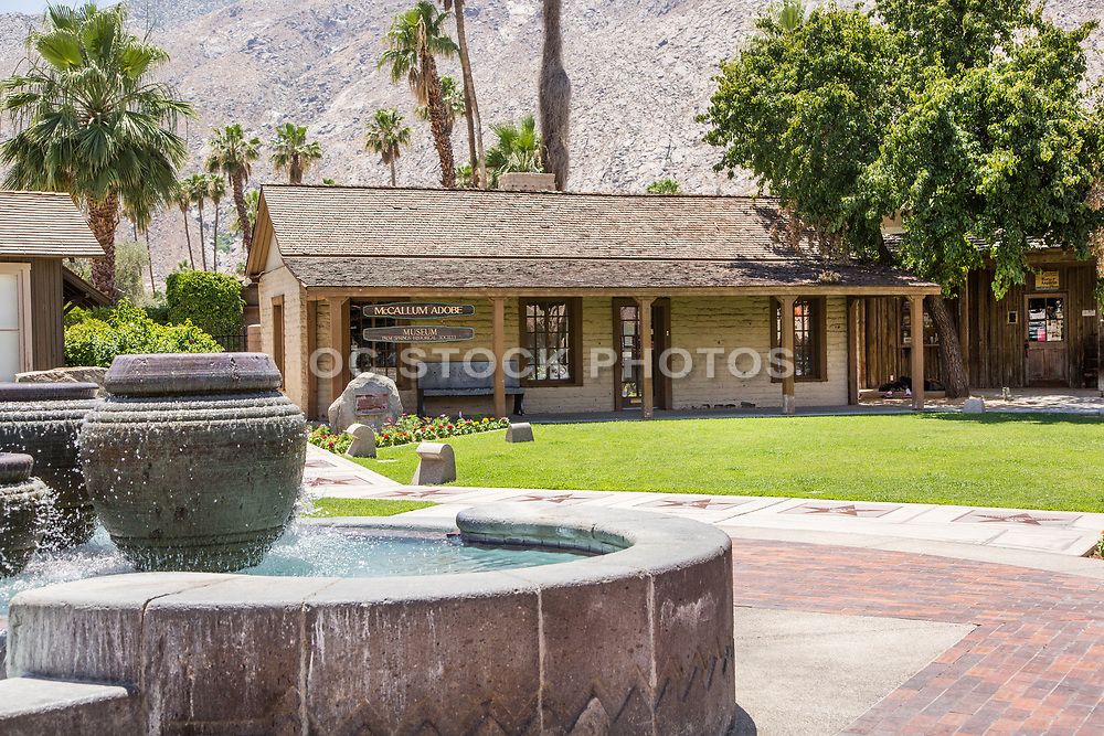 McCallum Adobe Museum Downtown Palm Springs on Palm Canyon Drive