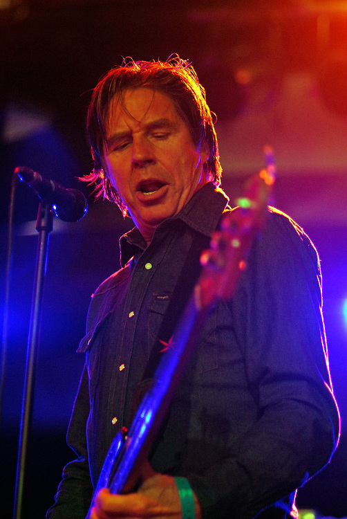 X [John Doe pictured] performing live at All Tomorrow's Parties at Butlins in Minehead. 17th May 2009.