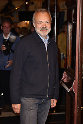 May 29, 2019 - London, United Kingdom - Graham Norton seen during The Starry Messenger' press night at Wyndham's Theatre in London. (Credit Image: © James Warren/SOPA Images via ZUMA Wire)