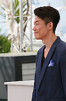 Director Hong Won-Chan at the Office film photo call at the 68th Cannes Film Festival Tuesday May 19th 2015, Cannes, France.