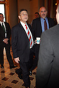 Speaker Sheldon Silvers arrives for the Swearing-in of the Honorable David A. Patterson at the 55th Governor of New York  at The New York State Capitol in the Assembly Chambers on March 17, 2008