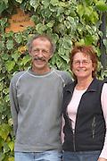 Christian and Martine Vache, owners.   Domaine la Monardiere Monardière, Vacqueyras, Vaucluse, Provence, France, Europe