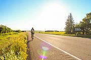 Alberta-Saskatchewan border, near Macklin