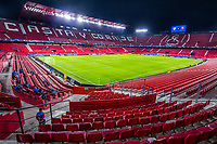 SEVILLE, SPAIN - OCTOBER 28: The UEFA Champions League Group E stage match between FC Sevilla and Stade Rennais at Estadio Ramon Sanchez-Pizjuan on October 28, 2020 in Seville, Spain. (Photo by Juan Jose Ubeda/ MB Media).