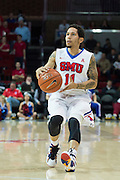 DALLAS, TX - DECEMBER 17: Nic Moore #11 of the SMU Mustangs shoots a three-pointer against the Hampton Pirates on December 17, 2015 at Moody Coliseum in Dallas, Texas.  (Photo by Cooper Neill/Getty Images) *** Local Caption *** Nic Moore
