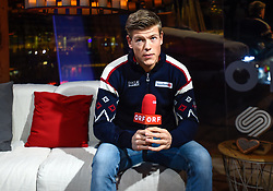 22.02.2019, Seefeld, AUT, FIS Weltmeisterschaften Ski Nordisch, Seefeld 2019, Tirolberg TV Studio, im Bild Johannes Hösflot Kläbo // Johannes Hösflot Kläbo during the FIS Nordic Ski World Championships 2019 at the Seefeld, Austria on 2019/02/22. EXPA Pictures © 2019, PhotoCredit: EXPA/ Erich Spiess