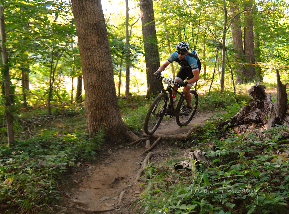 """Riders of all ages participated in the first """"Wednesday's at Wakefiled"""" Mountain Bike Races at Wakefield Park in Annandale, VA"""