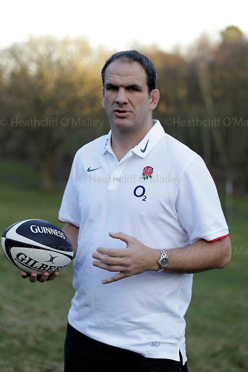 Mcc0029913 . Daily Telegraph..Sport..England Rugby Team manager, and former player Martin Johnson photographed at Penny Hill Park...Bagshot 7 March 2011