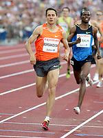 Friidrett , 3. juli 2009 , Golden League , Bislett Games , <br /> <br /> Yuriy Borzakovskiy ,  800 metres