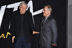 James Cameron, Christoph Waltz attend the Premiere Of 20th Century Fox's 'Alita: Battle Angel' at Westwood Regency Theater on February 05, 2019 in Los Angeles, CA, USA. Photo by Lionel Hahn/ABACAPRESS.COM